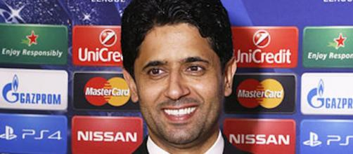 Nasser Al-Khelaïfi, directeur du PSG. Credit: Wikimedia Commons