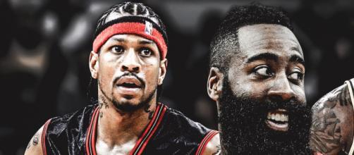 Rockets : James Harden passe Allen Iverson
