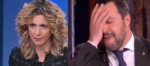 Scontro dialettico in Parlamento tra Barbara Lezzi e Matteo Salvini.