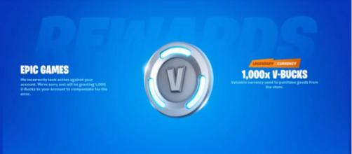 Fortnite': Wrongfully banned players compensated with free V