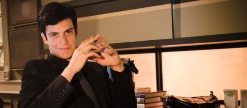 Mateus Solano caracterizado como Félix, vilão de 'Amor à Vida', novela exibida em 2013. (Reprodução/Rede Globo)
