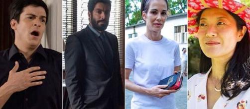 Novos atores entraram na novela das nove da Rede Globo. (Reprodução/Rede Globo)