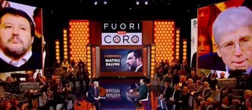 Fuori dal coro: Salvini apre all'ipotesi Draghi al Quirinale