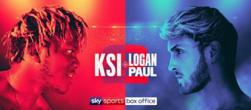 KSI vs Logan Paul 2 a Los Angeles, su DAZN