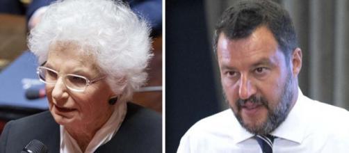Liliana Segre sotto scorta: il commento di Matteo Salvini