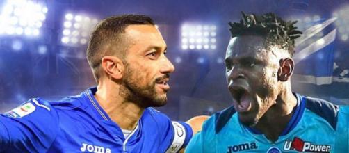 Probabili formazioni Sampdoria-Atalanta: probabile panca per Quaglia, Zapata convocato.
