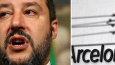ArcelorMittal e Moscopoli, M5S accusa Salvini: 'Scappa dalle domande'
