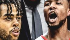 NBA - Scoreurs : Damian Lillard et D'Angelo Russell pour l'histoire, le top 5