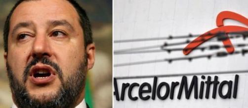 ArcelorMittal, offensiva del M5S contro Matteo Salvini