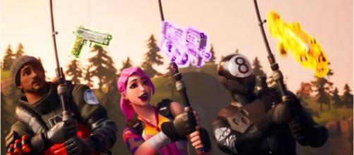 The Fishing Pole was introduced in 'Fortnite's' second chapter. [Image source: Fortnite/YouTube]