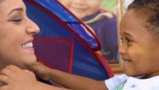 'Bebê arco-íris' ajuda mulher a superar eventos traumáticos no Espírito Santo