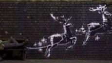 Lo street artist Banksy dedica la sua opera natalizia ai senzatetto di Birmingham