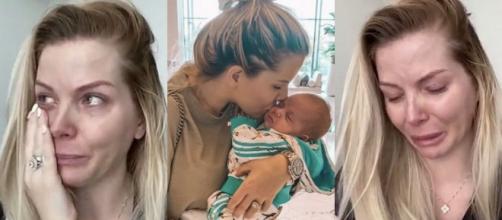 Après quatre jours d'absence sur les réseaux, Jessica et Thibault racontent que leur fils Maylone a failli mourir. @Instagram : Jessica Thivenin.