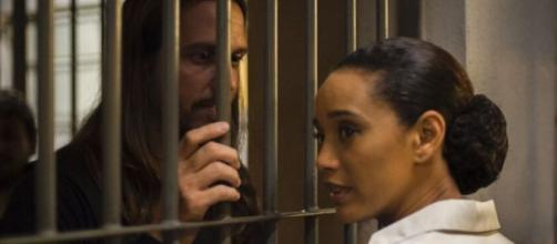Davi rejeitará ajuda de Vitória em cena que irá ao ar nesta semana em 'Amor de Mãe'. (Reprodução/TV Globo)