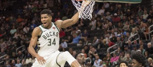 Giannis Antetokounmpo is playing at a MVP-level once again. [Image Source: Flickr | Dan Garcia]