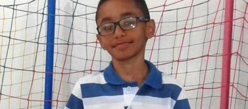 Igor Domeneguetti, de 12 anos, morreu após ter cabeça atingida por trave de gol em Cristais Paulista, SP. (Arquivo pessoal/Divulgação)