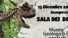 Mostra permanente dedicata ai dinosauri al Museo Geologico Gemmellaro di Palermo