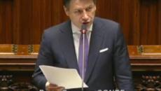 Mes, Conte alla Camera, l'attacco di Borghi (Lega): 'Lei è un traditore'
