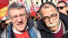 Roma: Cgil Cisl e Uil in piazza, Landini chiede di ripartire dal 'lavoro'