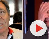 Beppe Carletti, leader dei Nomadi e Matteo Salvini.