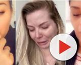 Maylone, le bébé de Jessica Thivenin et Thibault Garcia a frôlé la mort. Anaïs, Sarah Fraisou et Julia réagissent. ®Snapchat : Anaïs, Sarah.