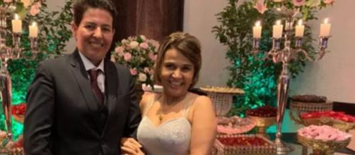 A atriz posou para fotos ao lado da empresária Adriane Bonato. (Arquivo Blasting News)