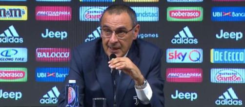 Sarri: 'Chiesi ai dirigenti juventini il perchè del calo nel finale della scorsa stagione'
