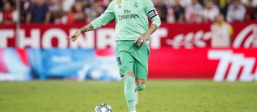 Sergio Ramos, difensore del Real Madrid.