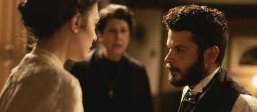 Una Vita, trame: Eduardo apprende che sua moglie Lucia l'ha tradito con Telmo