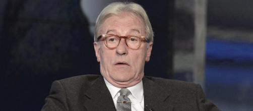 Vittorio Feltri critica le sardine