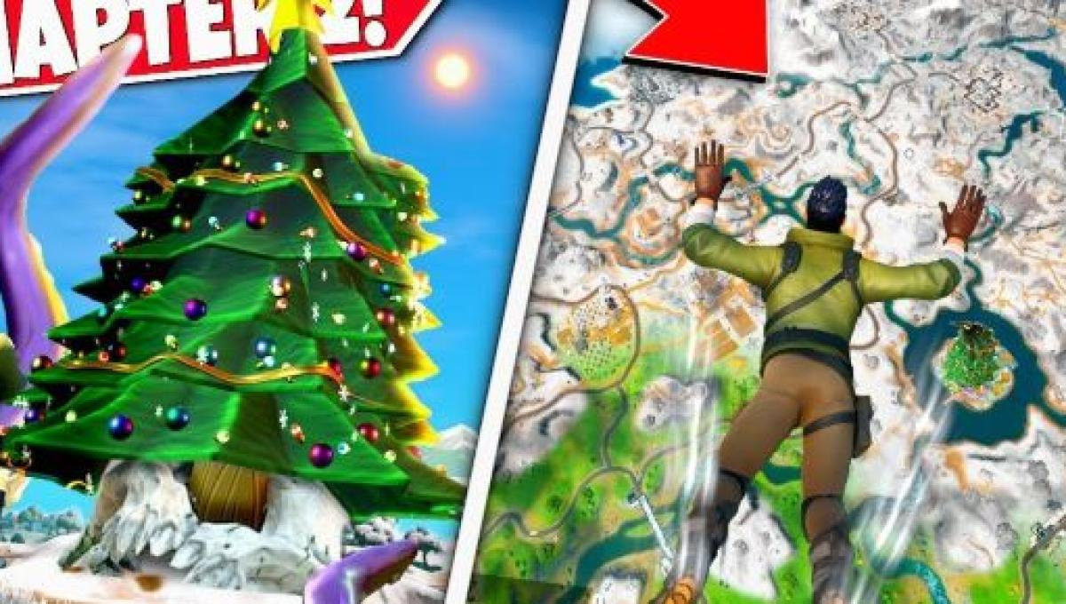 The Fortnite Christmas Event Map Has Been Leaked There Will Be Decorations Fortnite's christmas holiday 'winterfest' event is live. the fortnite christmas event map has