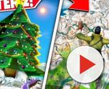 """Fortnite"" is getting a snowy Christmas map. Credit: CommunicGaming / YouTube"