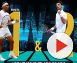 Rafa Nadal e Nole Djokovic grandi protagonisti del torneo-esibizione di Abu Dhabi.