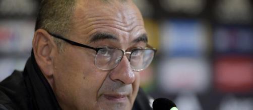 Maurizio Sarri, allenatore della Juve