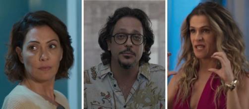 Nana, Mario e Silvana formam novo triângulo amoroso em 'Bom Sucesso'. (Arquivo Blasting News)