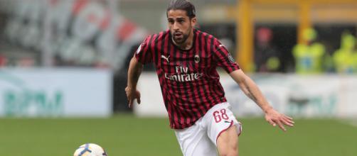 Ricardo Rodriguez, il terzino del Milan sarebbe vicino all'addio.