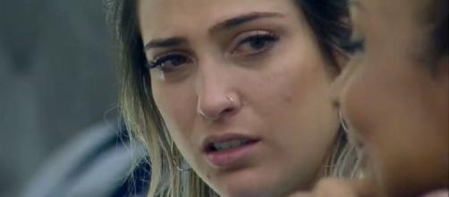 Tati Dias é acusada por Bifão de fazer declarações contra ela. (Reprodução/Record TV)