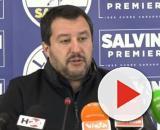 Matteo Salvini reduce da una visita in Calabria.