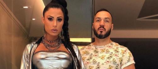 Belo e Gracyanne deixaram dívidas em uma segunda casa alugada em São Paulo; casal agora vive no Rio. (Reprodução/Instagram/@gracyannebarbosa)
