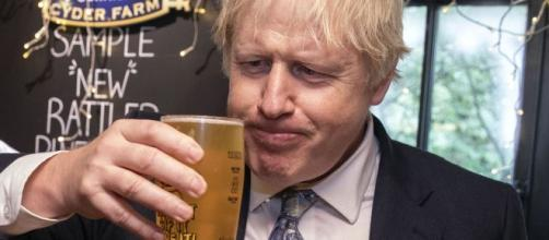 Boris Johnson on course for major victory in British general . Photo-(Image credit BBC/YouTube)