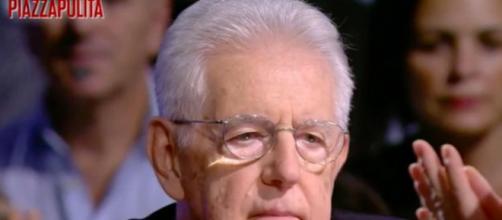 Piazzapulita, Mario Monti commenta il tweet di Borghi sulla Brexit
