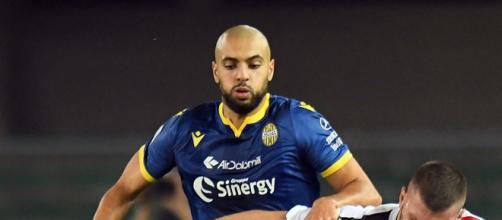 Sofyan Amrabat, calciatore dell'Hellas Verona.