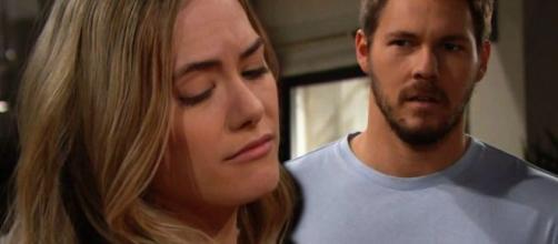 Beautiful: Hope e Liam soffrono per la morte di Beth.