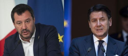 Migranti, scontro a distanza tra Matteo Salvini e Giuseppe Conte