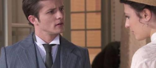 Samuel chiede a Lucia di sposarlo
