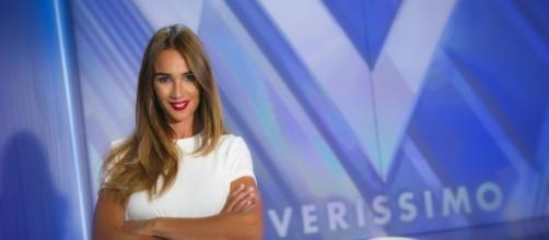 Silvia Toffanin, la conduttrice del rotocalco di Canale 5 'Verissimo'.