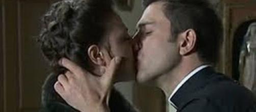 Anticipazioni Una Vita: il romantico bacio tra Lucia e Telmo.