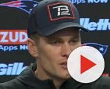 Brady played with Gronkowski for nine years. [Image Source: New England Patriots/YouTube]