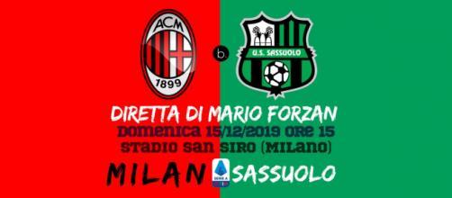16a giornata di Serie A: Milan - Sassuolo per la festa dei 120 anni dei rossoneri.