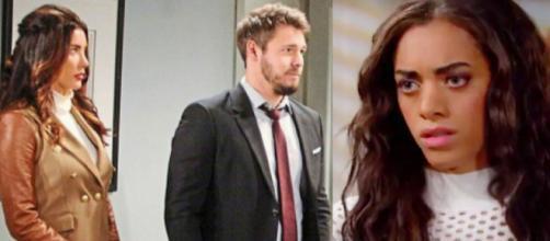 Anticipazioni americane Beautiful: Zoe si allea con Steffy e Liam per smascherare Thomas.